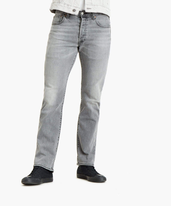 Levi's® 501 Regular Fit Mens Jeans - High Water Tonal (Grey) W28 L32 501294728R Levi's® Jeans