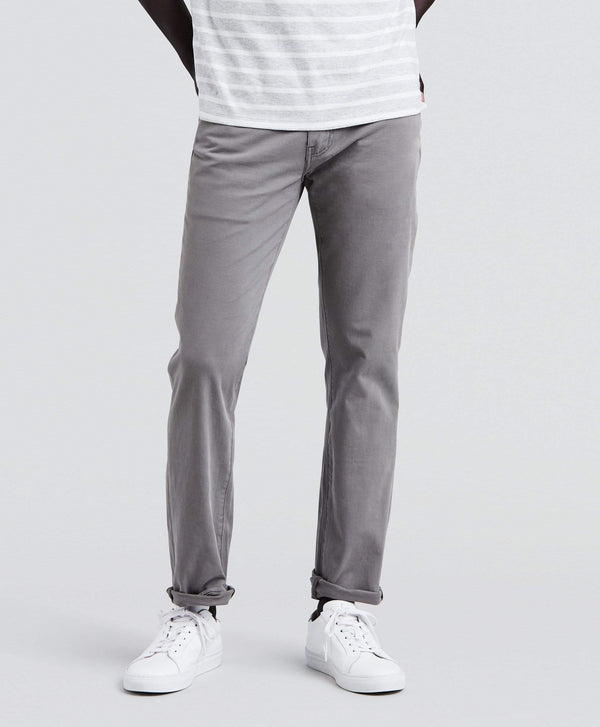Levi's® 511 Lightweight Stretch Slim Fit Mens Pants - Steel Grey Bi-Stretch W28 L32 04511261628R 5400537578600 Levi's® Chinos & Non-Denim Pants Levis 511 Lightweight Stretch Slim Fit Mens Pants - Steel Grey Bi-Stretch - Jeans and Street Fashion from Jeanstore