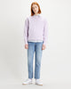 Levi's® Authentic Logo Crew Neck Sweat - FT Garment Dye Lavender Frost Levi's® Sweaters & Knitwear