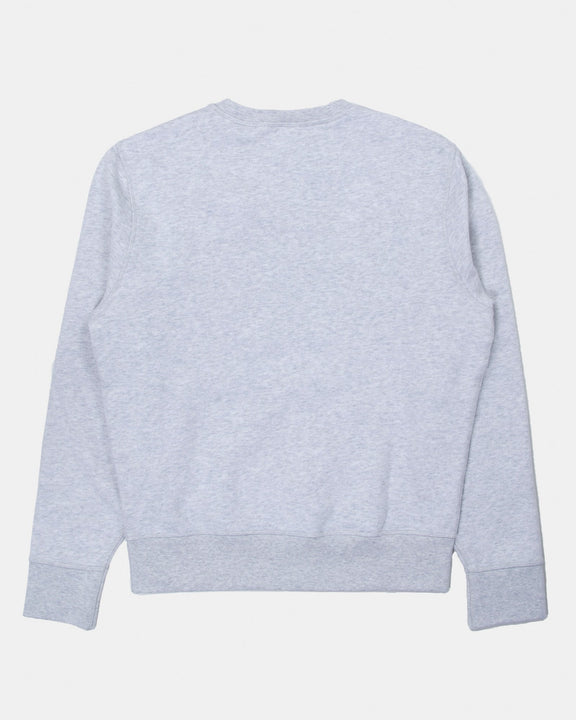 Levi's® Made & Crafted® Relaxed Crew Neck Sweat - White Stone Heather Levi's® Sweaters & Knitwear