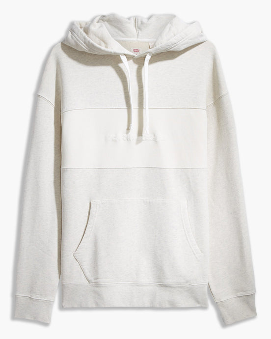 Levi's® Relaxed Fit Novelty Hoodie - Linear Garment Dye Tofu S 35872-0000S Levi's® Sweaters & Knitwear