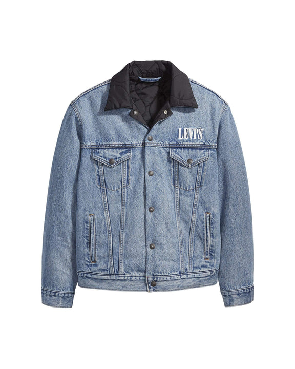 Levi's® Reversible Padded Trucker Jacket - Surprise S 858460000S 5400816706489 Levi's® Jackets & Coats
