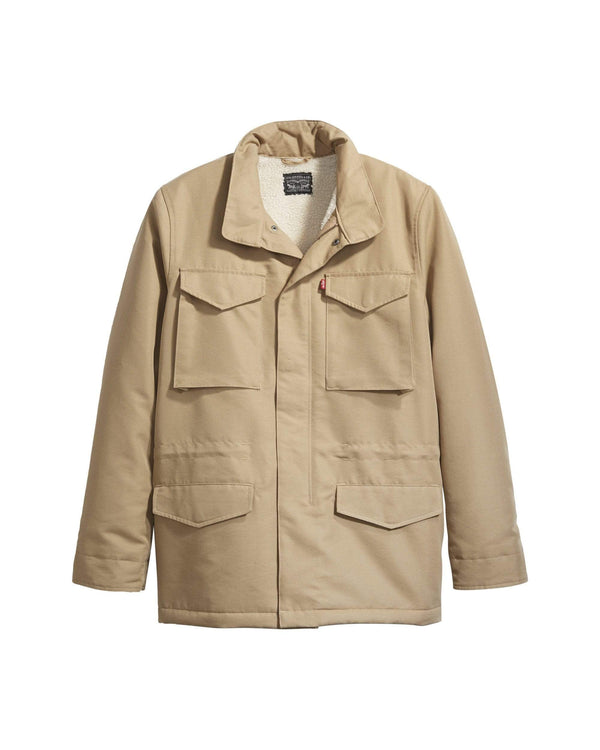 Levi's® Sherpa Field Coat - Harvest Gold S 854320000S 5400816706922 Levi's® Jackets & Coats