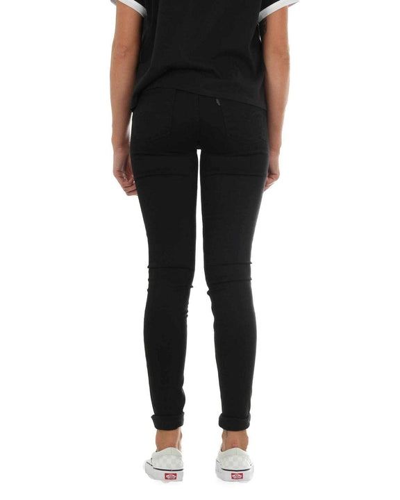 Levi's® Womens 710 Innovation Super Skinny Jeans - Black Galaxy Levi's® Jeans Levis Ladies 710 Innovation Super Skinny Jeans - Black Galaxy - Jeans and Street Fashion from Jeanstore