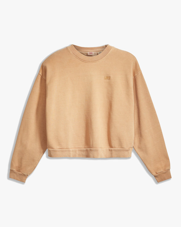 Levi's® Womens Diana Crew Sweat - Iced Coffee XS 85630-0008XS 5400898405874 Levi's® Sweaters & Knitwear