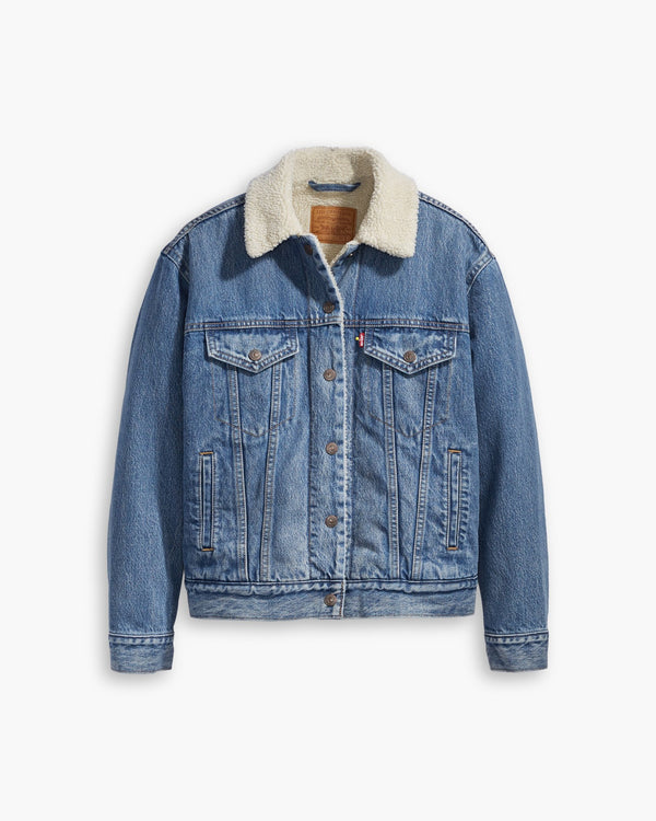 Levi's® Womens Ex-Boyfriend Sherpa Trucker Jacket - Addicted To Love XS 36137-0005XS Levi's® Jackets & Coats