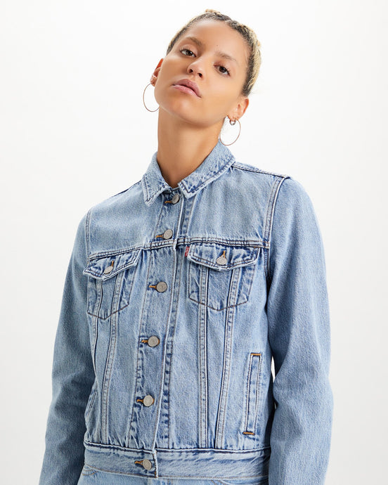 Levi's® Womens Original Trucker Jacket - All Mine XS 29945-0100XS Levi's® Jackets & Coats