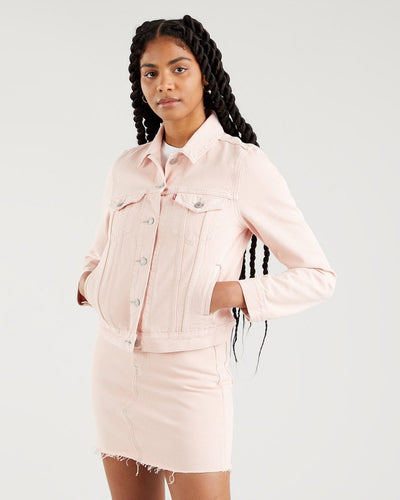 Levi's® Womens Original Trucker Jacket - Tender Pink XS 29945-0111XS Levi's® Jackets & Coats