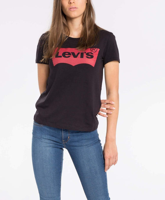 Levi's® Womens Perfect Tee - Mineral Black XS 173690201XS 5400537012623 Levi's® T Shirts