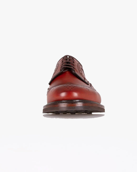 Loake Birkdale Brogue Derby Shoe - Conker Loake Shoemakers Shoes