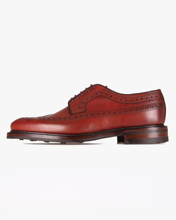 Loake Birkdale Brogue Derby Shoe - Conker UK 7 BIRC7 5050362261910 Loake Shoemakers Shoes