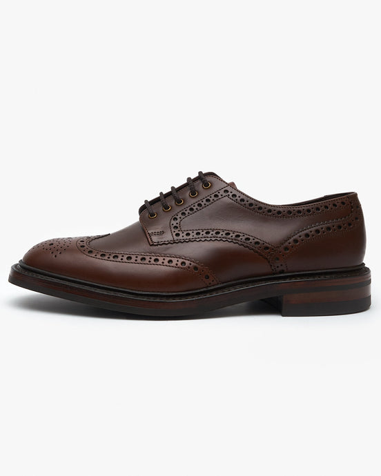 Loake Chester Brogue - Brown Waxy UK 7 CHECHR7 5050362322475 Loake Shoemakers Shoes