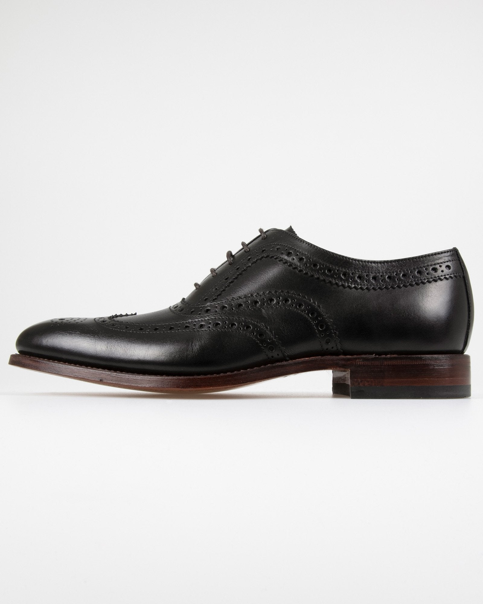 Loake Fearnley Brogue Oxford - Black UK 10 FEAB10 5050362190180 Loake Shoemakers Shoes