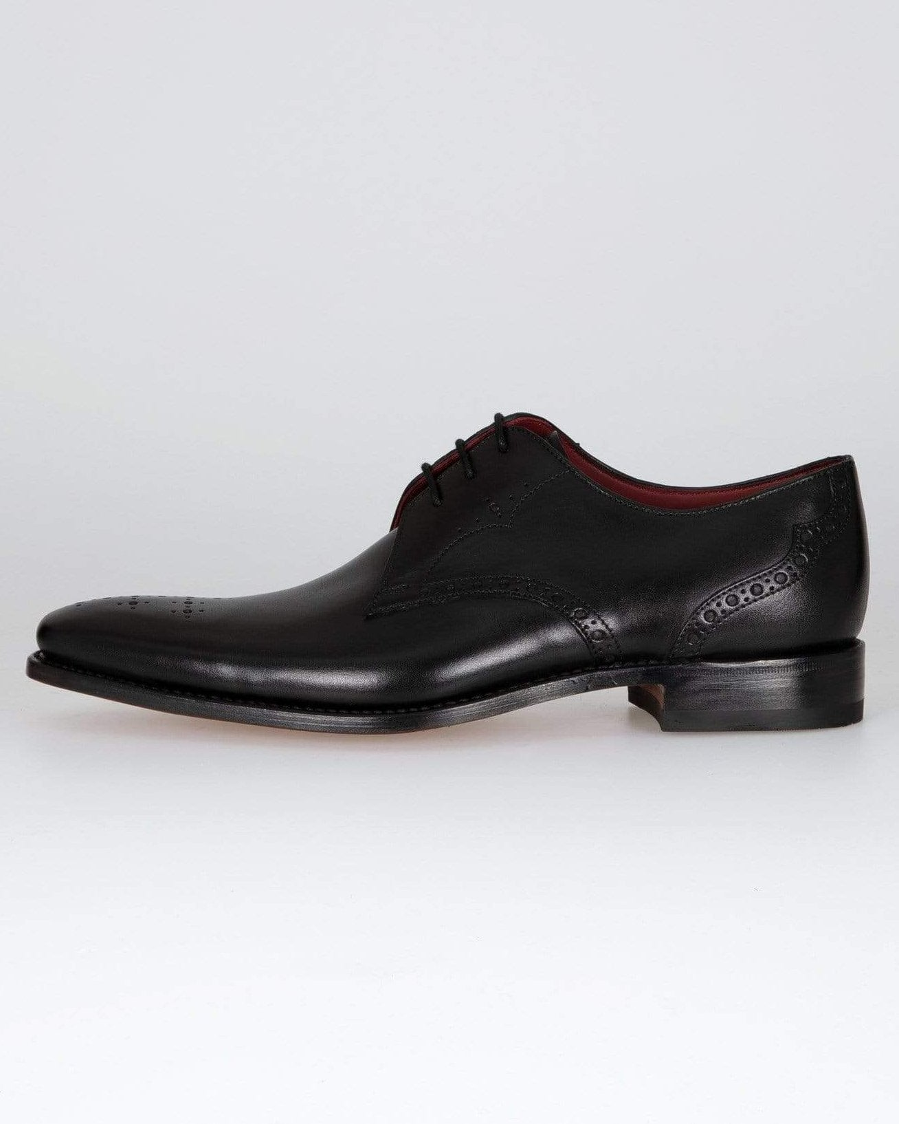 Loake Hannibal Derby Shoe - Black UK 8.5 HANB85 5050362264676 Loake Shoemakers Shoes