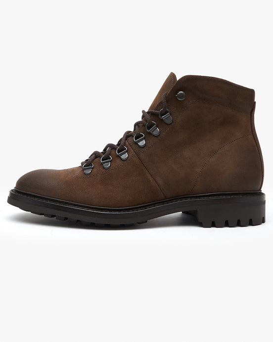 Loake Hiker Boot - Brown Suede UK 7 HIKS7 5050362323199 Loake Shoemakers Boots