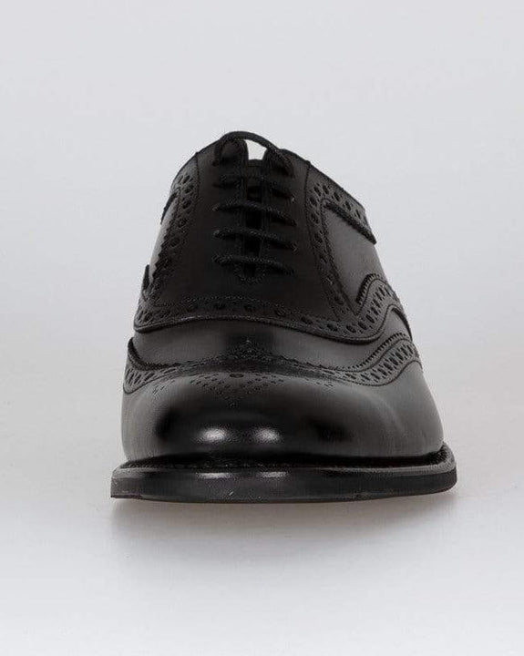 Loake Kerridge Oxford Brogue - Black Loake Shoemakers Shoes