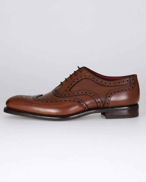 Loake Kerridge Oxford Brogue - Cedar UK 8 KERCD8 5050362256794 Loake Shoemakers Shoes