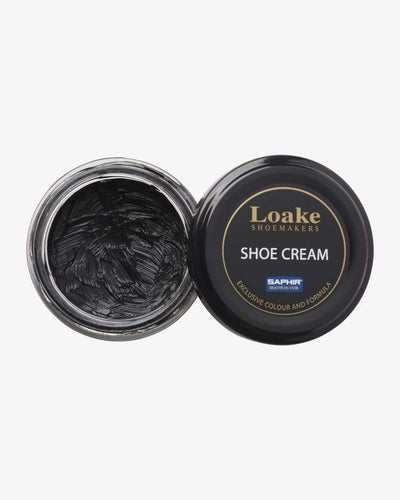 Loake Shoemakers Black Shoe Cream XSAPCREMBM 5050362270448 Loake Shoemakers Garment Care