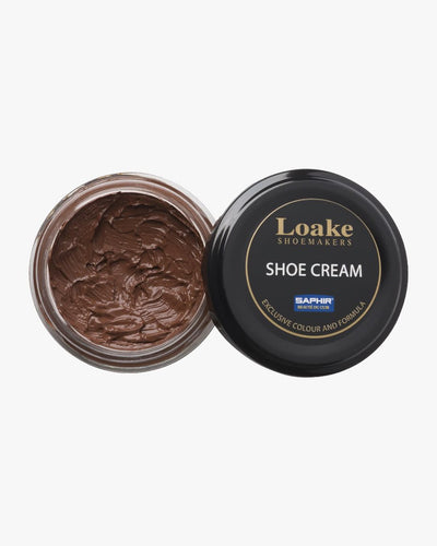 Loake Shoemakers Brown Shoe Cream XSAPCREMCHM 5050362270509 Loake Shoemakers Garment Care