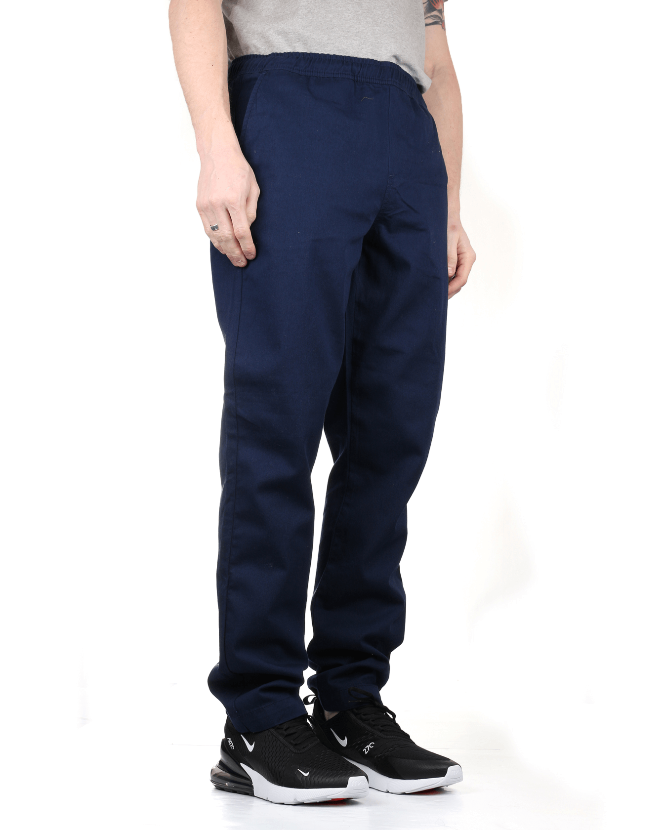 Lyle & Scott Relaxed Trousers - Navy L TR802VZ99L 5054783242374 Lyle & Scott Chinos & Non-Denim Pants Lyle & Scott Relaxed Trousers - Navy - Jeans and Street Fashion from Jeanstore