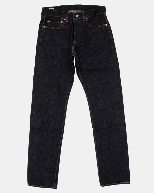 Momotaro (18oz Zimbabwe Cotton Unsanforized Selvedge Denim) Natural Tapered Mens Jeans - Indigo OW W30 L34 0601-18SP30L 4589899719515 Momotaro Jeans Jeans