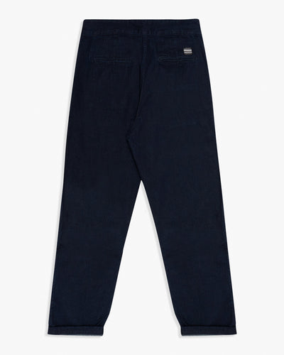 Momotaro Denim Gurkha Military Trousers - Indigo Momotaro Jeans Chinos & Non-Denim Pants