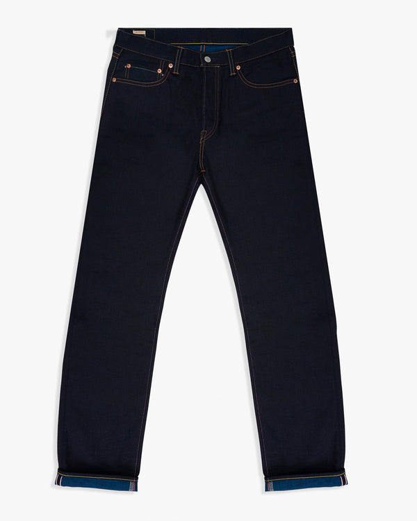 Momotaro Natural Tapered Mens Jeans - 13oz Double Face Selvedge Denim / Indigo W30 L34 0605-1430L Momotaro Jeans Jeans