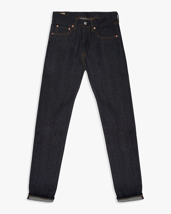 Momotaro Tight Tapered Mens Jeans - 14oz Zimbabwe Cotton Selvedge Denim / Indigo W30 L34 0306-3230L 0306-3230L Momotaro Jeans Jeans