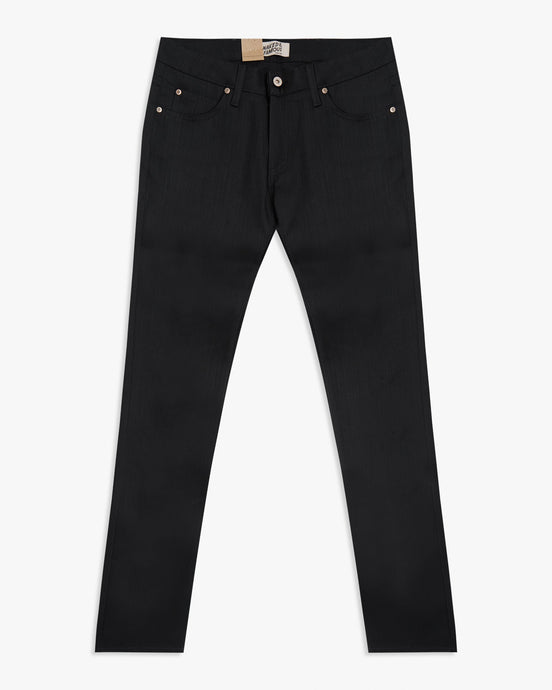 Naked & Famous Skinny Guy Slim Fit Mens Jeans - Black Power Stretch W30 L34 01301130 Naked & Famous Denim Jeans