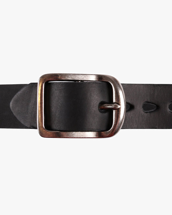 Naked & Famous Thick Belt - 7mm Bovine Leather / Black Naked & Famous Denim Belts