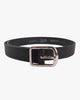 Naked & Famous Thick Belt - 7mm Bovine Leather / Black W32 01902632 Naked & Famous Denim Belts