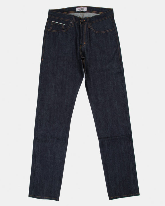 Naked & Famous Weird Guy Slim Tapered Mens Jeans - Indigo Guardian Selvedge W30 L34.5 10118610330L 675270082003 Naked & Famous Denim Jeans