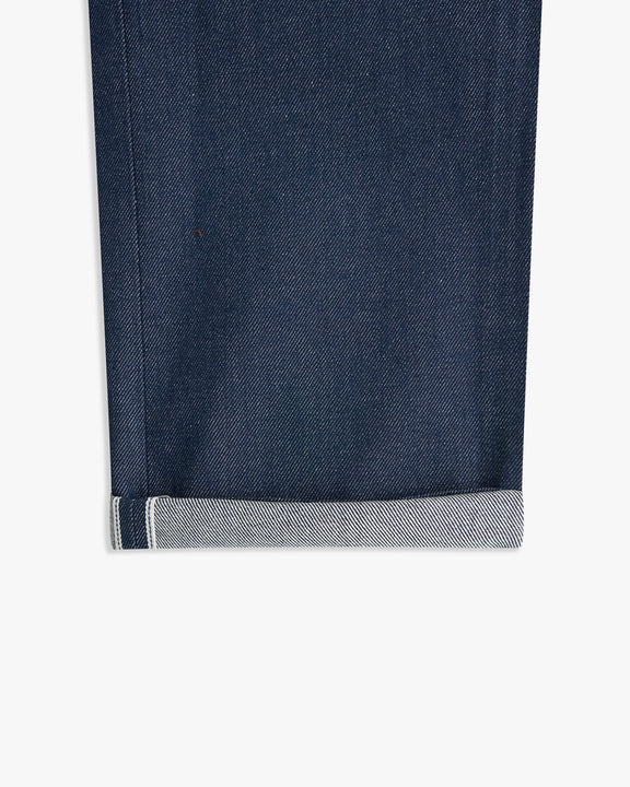Naked & Famous Weird Guy Slim Tapered Mens Jeans - Natural Indigo Selvedge Naked & Famous Denim Jeans