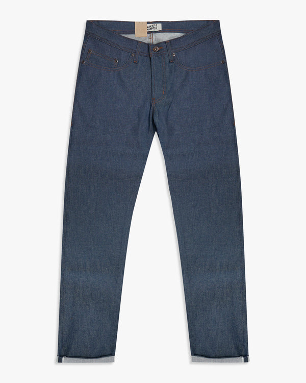 Naked & Famous Weird Guy Slim Tapered Mens Jeans - Natural Indigo Selvedge W30 L34.5 01501330 Naked & Famous Denim Jeans