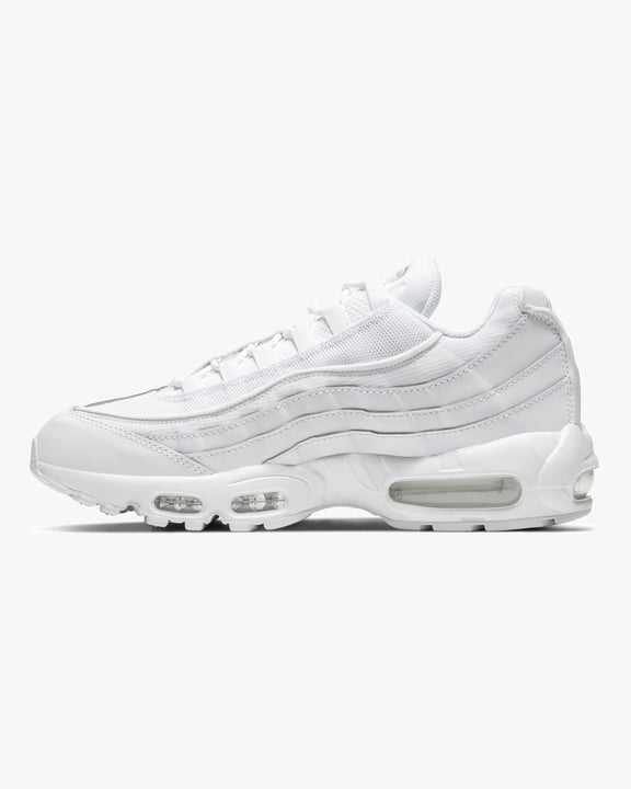 Nike Air Max 95 - White / White / Grey Fog Nike Trainers