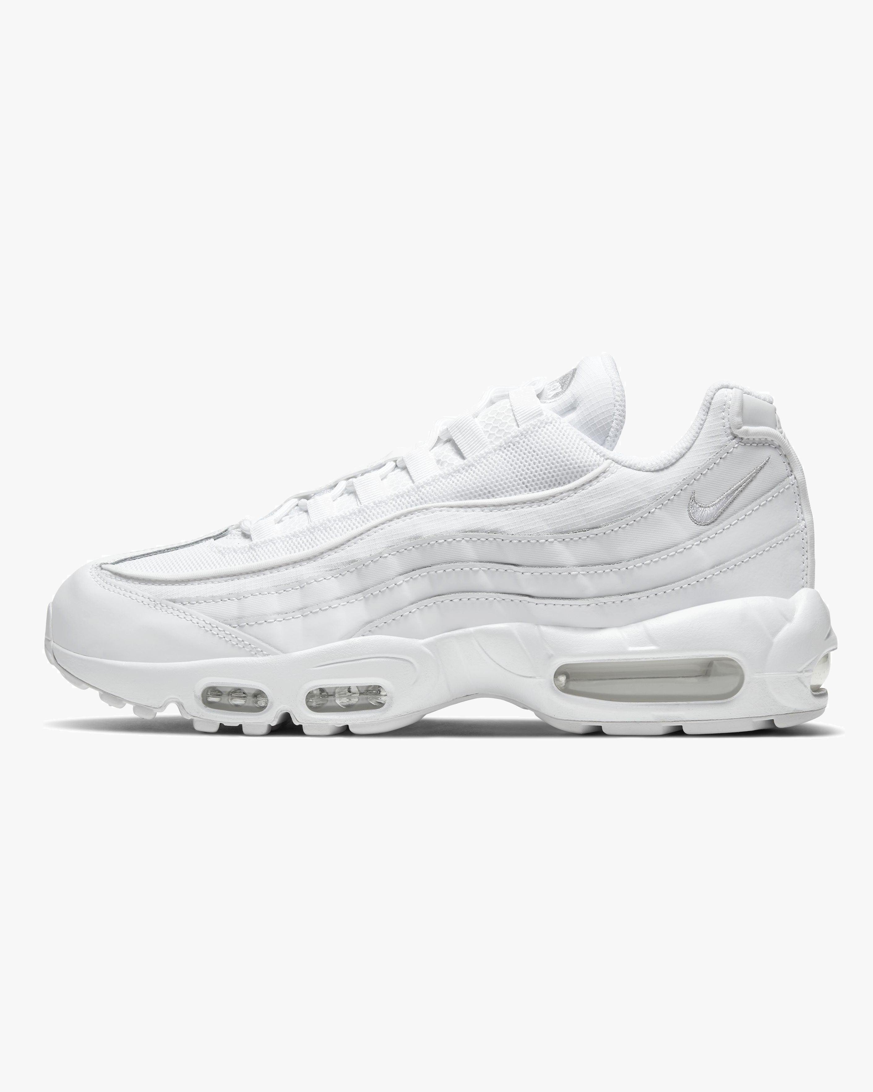 Nike Air Max 95 - White / White / Grey Fog UK 7 CT12681007 Nike Trainers