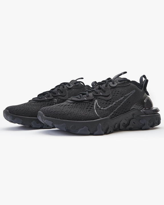 Nike React Vision - Black / Black / Anthracite Nike Trainers