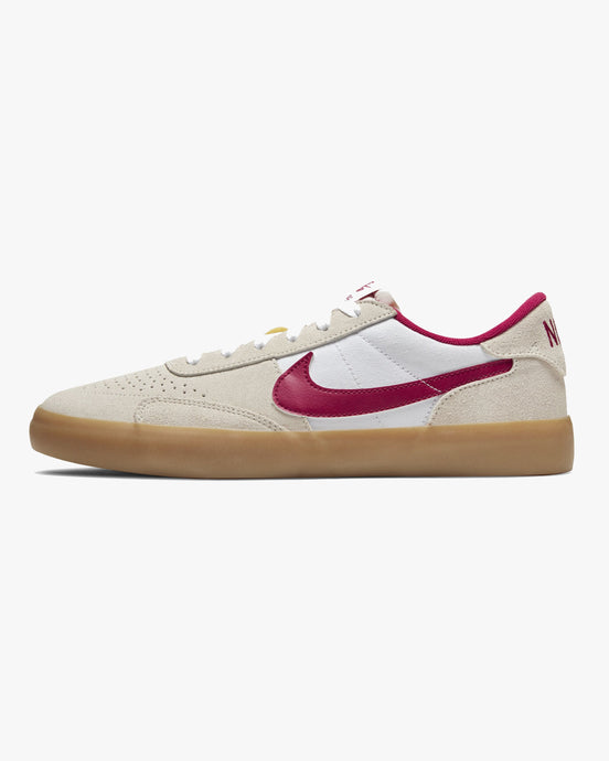 Nike SB Heritage Vulc - Summit White / Cardinal Red / Gum UK 7 CD50101007 194496391947 Nike SB Trainers