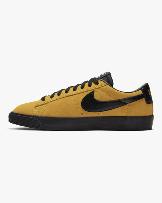 Nike SB Zoom Blazer Low GT - University Gold / Black UK 7 7049397007 194497706047 Nike SB Trainers