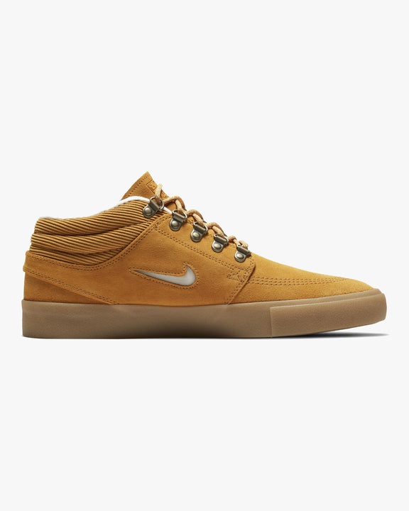 Nike SB Zoom Janoski Mid RM Premium 'Pacific Northwest' - Chutney / Gum Light Brown / White Nike SB Trainers