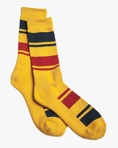 Pendleton National Park Crew Sock - Yellowstone Stripe 6449180 Pendleton Socks