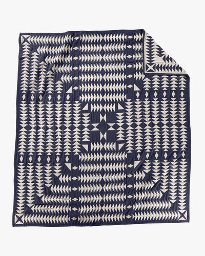 Pendleton Organic Cotton Matelasse Coverlet - Midnight Nova / King Size XA328-55219 Pendleton Miscellaneous