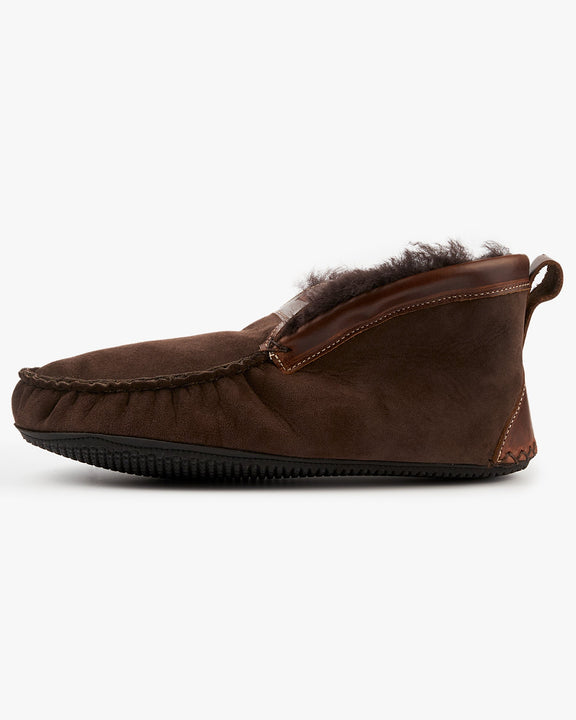 Quoddy Dorm Boot Slippers - Chocolate UK 8 3600078 796258949184 Quoddy Slippers