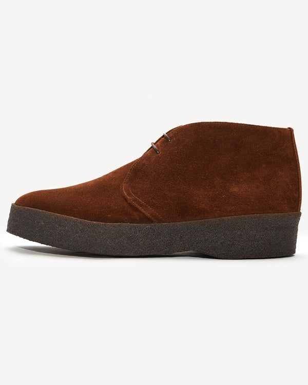 Sanders Hi-Top Chukka Boot - Chocolate Suede UK 7 6480TDS7 Sanders Boots