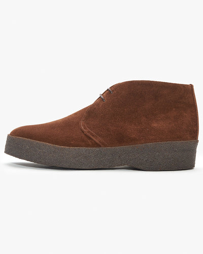 Sanders Hi-Top Chukka Boot - Polo Snuff Suede UK 7 6480PSS/I7 Sanders Boots