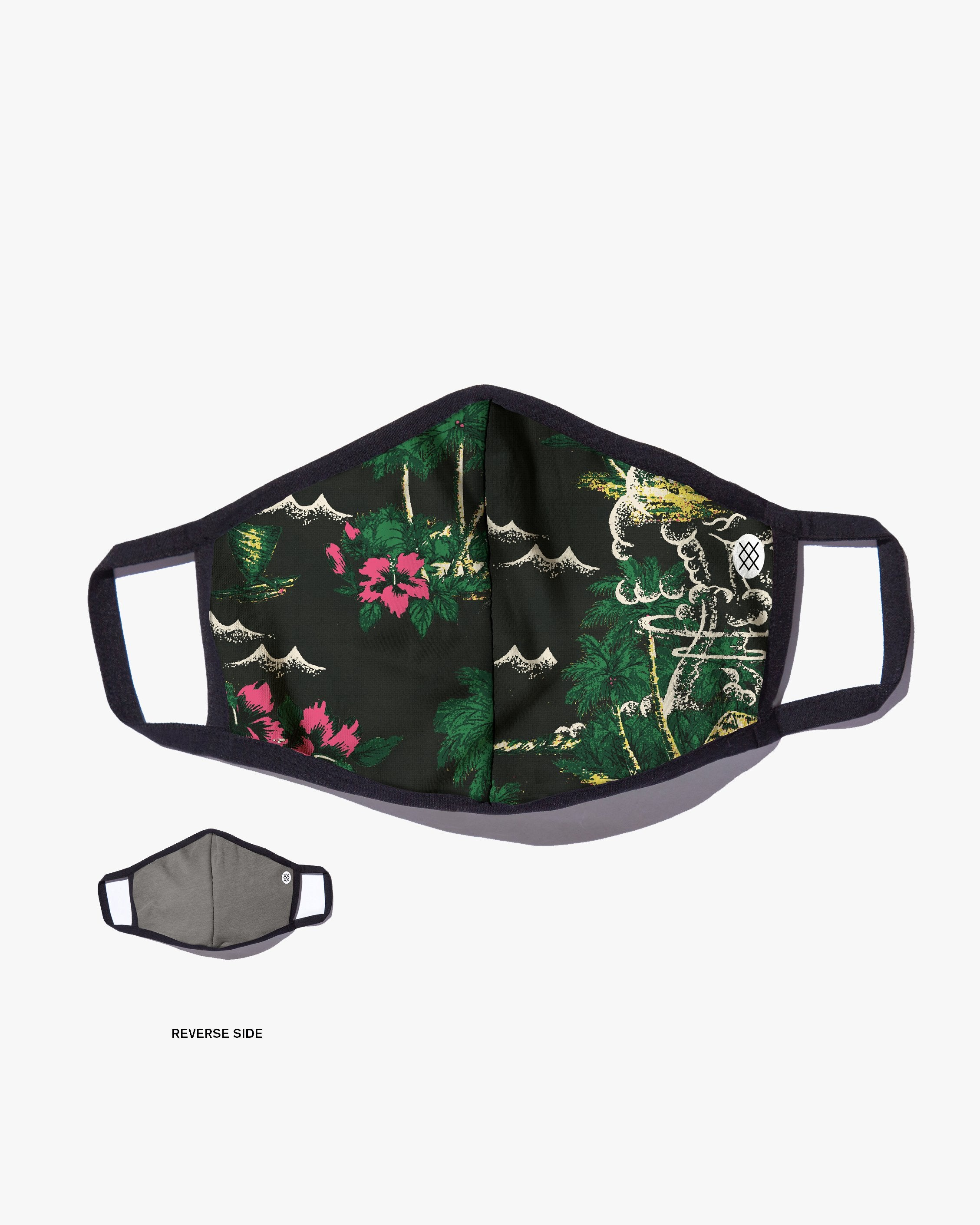 Stance Butter Blend Aloha Storm Face Mask - Black A801C20ALH-BLK Stance Miscellaneous