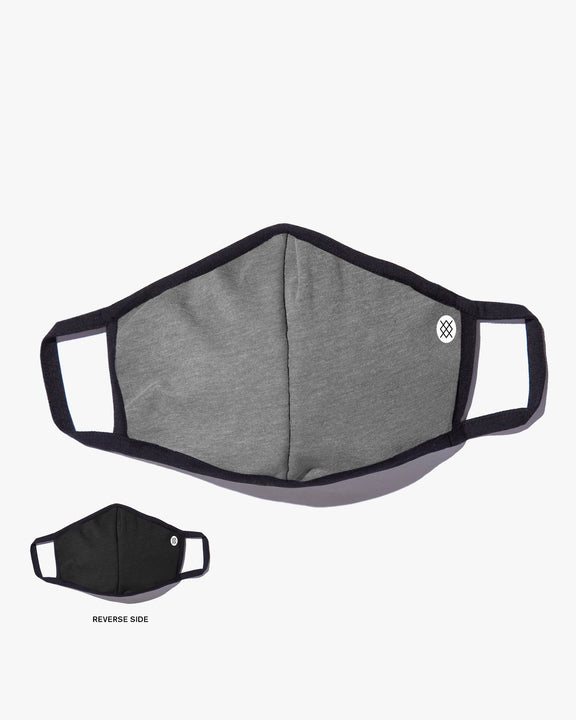 Stance Butter Blend Solid Face Mask - Grey AH01C20SOL-GRY Stance Miscellaneous