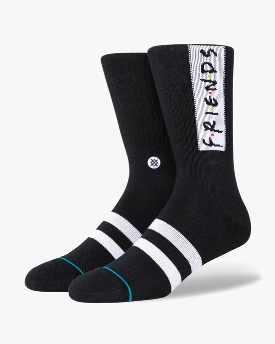 Stance x F.R.I.E.N.D.S The First One Socks - Black L A556D20TFO-BLKL 190107446877 Stance Socks