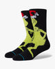 Stance x The Grinch Mr Grinch Socks - Black L A545D19MRG-BLKL 190107355186 Stance Socks