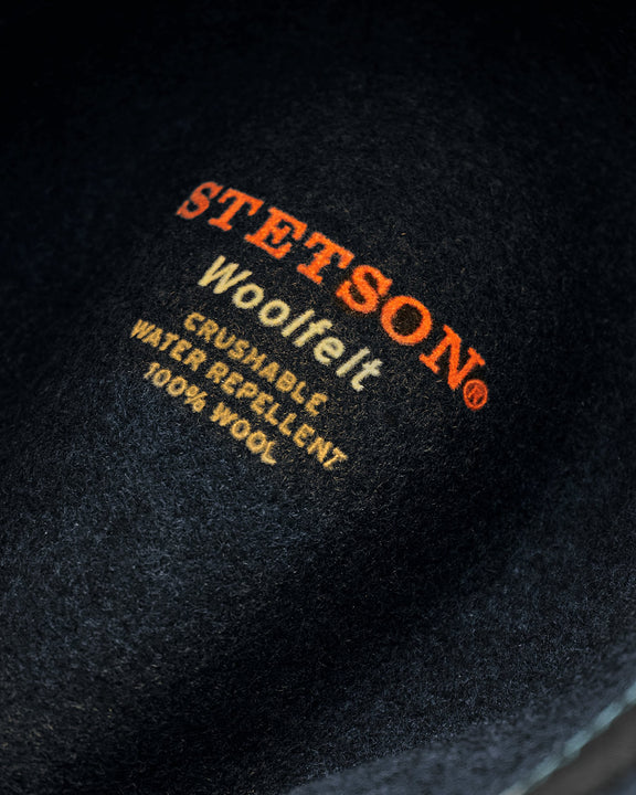 Stetson Traveller Woolfelt Mix Hat - Navy Mix